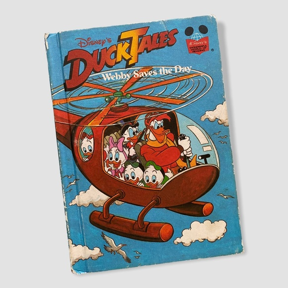 """80s Disney Book: """"Duck Tales: Webby Saves the Day"""""""